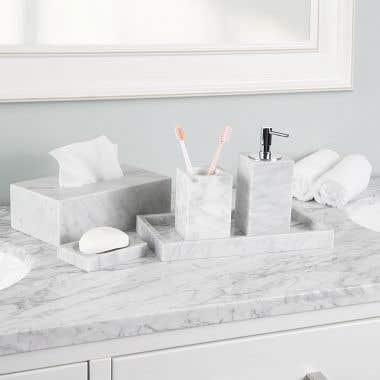 Marble Accessory Set