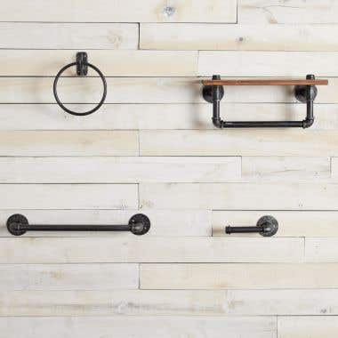Industrial Collection Complete Bathroom Hardware Set