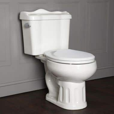 Randolph Morris Oxford Round Two-Piece Toilet