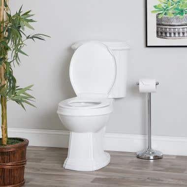 Jayson Top Flush Round Two-Piece Toilet