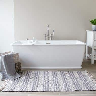 Madera 67 Inch Acrylic Double Ended Freestanding Tub