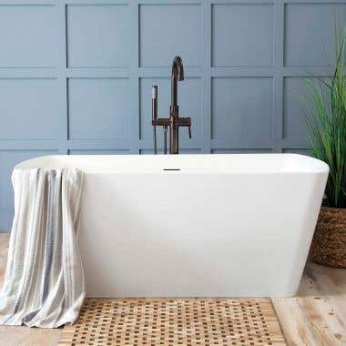 Camille 59 Inch Freestanding Double End Tub