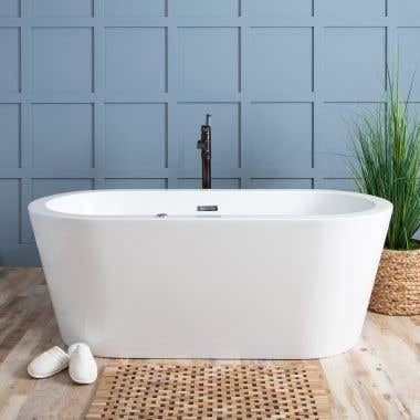 Deveraeux Double Ended Freestanding Hydro-Massage Tub