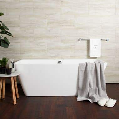 Iseo Double Ended Freestanding Hydro-Massage Tub