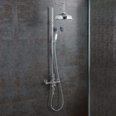 Thermostatic Shower Set with Handheld Shower - Chrome