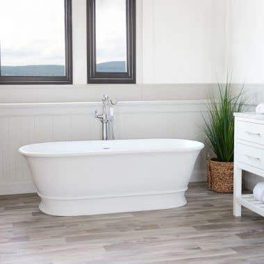 Lugano CapeStone Double Ended Tub