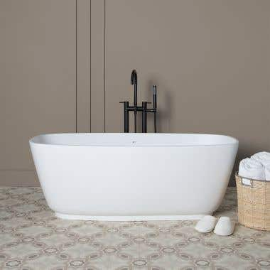 Ellery 59 Inch Resin Double Ended Tub