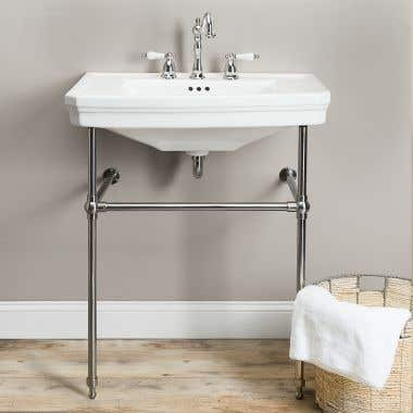 Randolph Morris Console Bathroom Sink