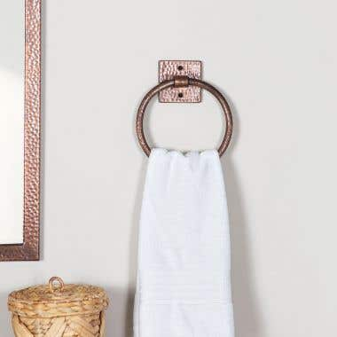 7 Inch Copper Towel Ring