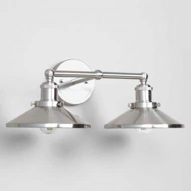 Versal Double Wall Sconce