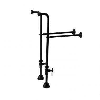 Single Offset Freestanding Tub Supply Lines