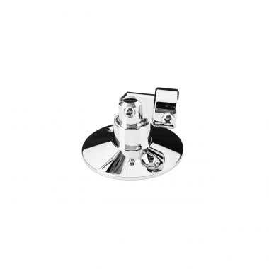 Chrome Swivel Ceiling Bracket for Shower Enclosure Support