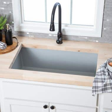 33 Inch Granite Undermount Kitchen Sink