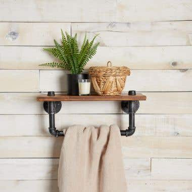 Industrial Collection Bathroom Shelf