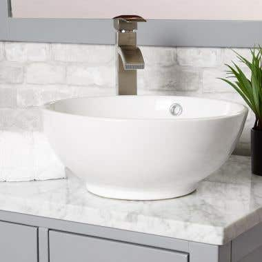 Breezy Vessel Bathroom Sink