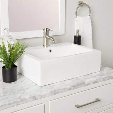 Dani Square Vessel Bathroom Sink