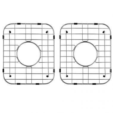 Stainless Steel Kitchen Sink Grid for Double Bowl Sink