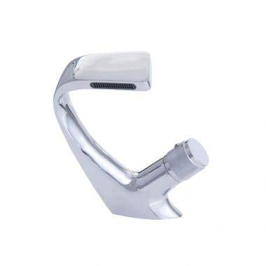 Kally Collection Waterfall Single Hole Faucet - Knob Handle
