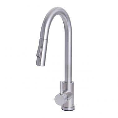Kally Collection Kitchen Faucet with Pull Down Spray