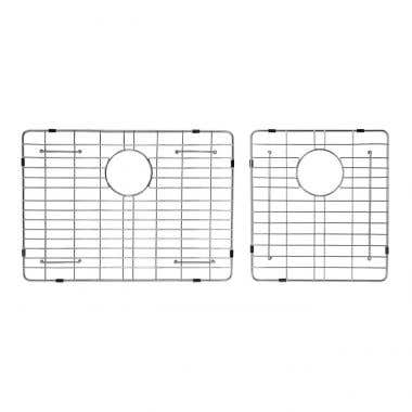 Stainless Steel Kitchen Sink Grid for 33 Inch Double Bowl Sink