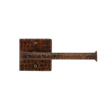 Premier Copper Products Hand Hammered Copper Toilet Paper Holder